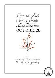 Anne of Green Gables autumn quote - Google Search