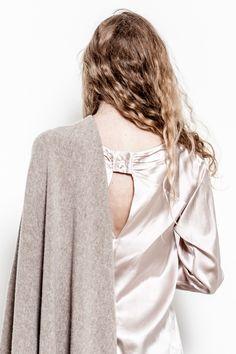 """""""Matilde"""", la camicia dalla collezione #FallWinter 2013/2014, è quello che qualsiasi donna vorrebbe per sentirsi sempre elegante. In 100% #seta"""