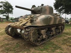 Sherman Tanks on display at St Mere Eglise last June for the D-Day Anniversary Commemorations. Ww2 Weapons, Sherman Tank, Ww2 Tanks, D Day, Military Vehicles, Wwii, June, Anniversary, Display