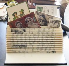 Great way to use an old book!