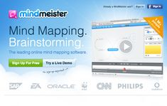 Mindmeister, Mind Mapping and Brainstorming tools online Mind Mapping Software, Mind Mapping Tools, Mind Map Online, Create Mind Map, Mind Map Design, Apps For Teachers, Cooperative Learning, Educational Websites, Educational Technology