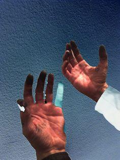 'the blue radiant finger'- photo by Ralph de Lange 2014