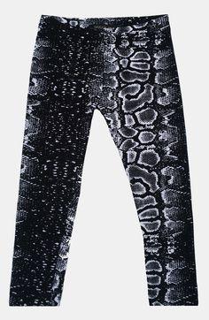 Jagged Culture snake print leggings at Kamari Kids http://www.kamarikids.com/girls/jagged-culture-snake-skin-print-leggings-girl
