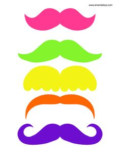 Mustaches from Bowling Neon Printable Photo Booth Prop Set: Lego Friends, Party Photo Frame, Hello Kitty Imagenes, Hello Kitty Photos, Photobooth Props Printable, Ramadan Crafts, Photo Booth Backdrop, Photo Booths, Sleepover Party