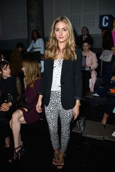 Olivia Palermo Photos: Front Row at Elie Saab - Celebrity Fashion Trends