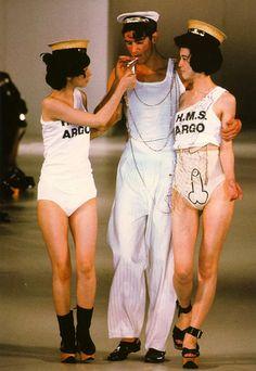 Vivienne Westwood 1980s statement collection..LOVE!