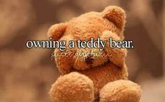 I think everyone has one:) #teddy #teddybear #bear