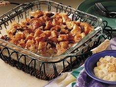 I just took this out of the oven, used Wild Turkey American Honey in the sauce...Bread Pudding with Bourbon Sauce -