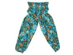 Blue Romper Harem Pants Hippie Boho Floral Print Capri Pants Trousers for Womens mogulinterior,http://www.amazon.com/dp/B00CU9YN4I/ref=cm_sw_r_pi_dp_9X1XrbDFADFC4EB9