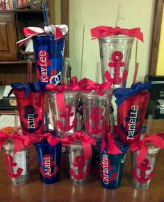 Bridesmaid and Bachlorette Tumblers by MindyMeyer on Etsy, $10.75