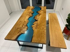 We've finished this table off completely natural to the customers specifications using @osmo_uk and we couldn't be more pleased with the finish!