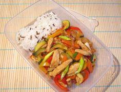 Čína s divokou rýží   Žij zdravě Wok, Chicken, Cooking, Recipes, Cook Books, Indie, Diet, Kochen, Cucina