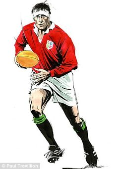 The Great Willie John McBride, The Irish and British Lions captain who led the unbeaten Lions Team in an unbeaten Tour of South Africa in 1974