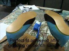 How to make shoes - Prescott & Mackay shoemaking course.mpg - YouTube