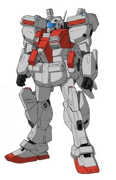 The Nouvel GM III is an improved variant of the RGM-86R GM III mobile suit which first appeared in the photonovel Gundam Sentinel.