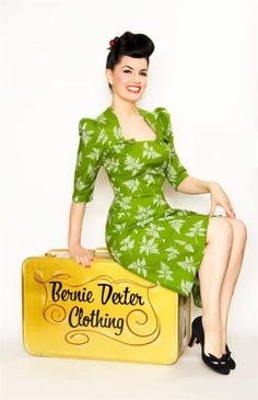 pin-up dress. Classic and pretty!