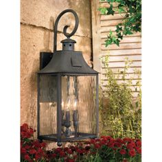 Monterey 3 Light Outdoor Wall Sconce In Charcoal - Homeclick Community Outdoor Wall Sconce, Outdoor Lighting, Buy Lights, Elk Lighting, Outdoor Wall Lantern, Wall Sconces, Home Decor, Artistic Lighting, House Exterior
