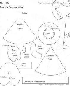 Como hacer patrones para fofuchas - Imagui