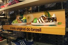 adidas Original's & The Farm Company Collection visual merchandising by AGE Isobar, Brazil Retail Design Blog