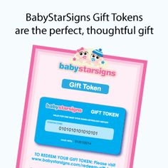 Baby Star Signs gift tokens are the perfect gift