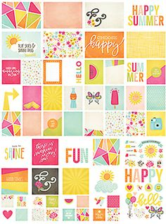 SIMPLE STORIES: SN@P! Pack (Sunshine & Happiness) Perfect for you planner, scrapbooks, cards, and more! These adorable embellishments are perfect for any project you have! This package contains Sunshi
