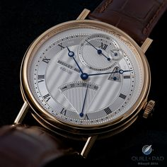 Classic cosmetics: the Reference 7727 is instantly recognizable as a Breguet