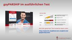 http://www.ihr-singleboersen-vergleich.de/gayparship-test/ gayPARSHIP - die Nr 1 der Partnervermittlungen für schwule und lesbische Singles. Tolles Design, toller Service. Mehr finden Sie im ausführlichen Testbericht.