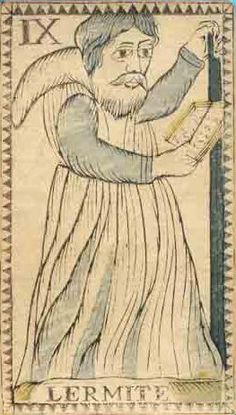 The Hermit in Art: Tarot - Articles - House of Lore - Hermitary