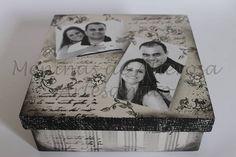 Essa caixa é ideal para surpreender e eternizar momentos, através de fotografias. É um ótimo presente para quem você ama, além de ser uma ótima lembrança de casamento para madrinhas e padrinhos. R$ 25,00