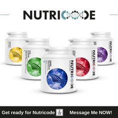 New Health Supplements coming soon With the supplements you get access to a specially designed website for support and advise and also a nutricode app for your phone.  For more info message me now xx - http://ift.tt/1HQJd81