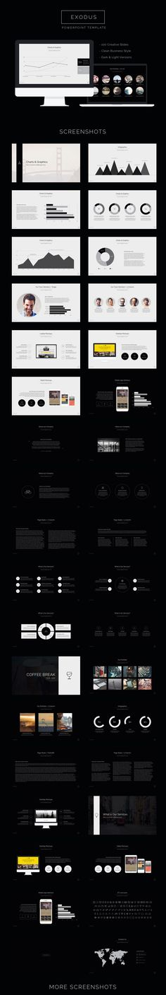 Exodus Powerpoint Template #powerpoint #powerpointtemplate #presentation Download: http://graphicriver.net/item/exodus-powerpoint-template/11942679?ref=ksioks