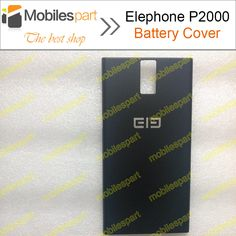 Elephone P2000 Battery Cover 100% Original battery Back Cover Case for Elephone P2000/P2000C Smartphone in Stock Free Shipping