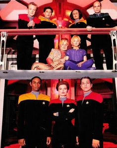 Star Trek Voyager Crew ❤