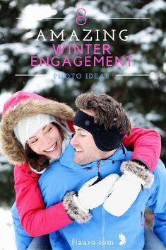 8 Amazing Winter Engagement Photo Ideas