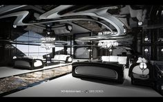 Xhibitionist luxury super-yacht by Gray Design, designed with the flowing lines of an Art Nouveau masterpiece and automotive styling. Images © Gray Design The… Super Yachts, Vacation Meme, Private Yacht, Batman, Travel Humor, Yacht Boat, Yacht Design, Batmobile, Super Cars