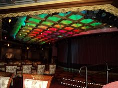 Disco Lights on Carnival Liberty Carnival Liberty, Disco Lights, Broadway Shows