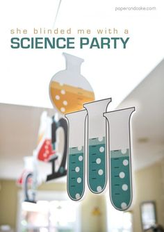 Science Lab Birthday Party: NEW The original place for Printable party designs! Personalized party d Mad Science Party, Mad Scientist Party, Science Cake, Birthday Party Decorations, Party Themes, Party Ideas, Spy Party, Birthday Parties, Party Printables