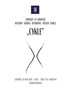 """Jolanta Babicz """"Cykle"""" SH Studio ul. Wilcza 44, Warszawa Wernisaż: 15 maja 2014, g. 20.00 http://artimperium.pl/wiadomosci/pokaz/284,wystawa-jolanta-babicz-cykle#.U2qTLvl_uSo"""