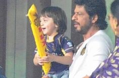 Bollywood star Shahrukh Khan waved and showered flying kisses to fans off the pitch as his team Kolkata Knight Riders (KKR) battled it out against Kings XI Punjab (KXIP) at the Eden Gardens here on Wednesday. Nearly halfway through KKR's innings, Khan — clad in a white T-shirt and sporting a beard — was first flashed on the giant screen...  Read More