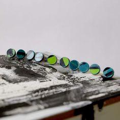 Yvet home design - earrings recycle skateboard, handmade