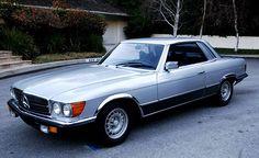 Dream car: Mercedes-Benz SL 450 SLC 5,0  1979, 170000 km, kr 179000,-