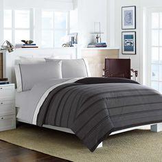 Nautica® Sebec Comforter Set in Grey