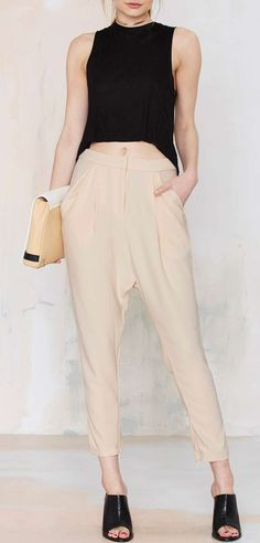 Cameo Chicago Pleated Trouser