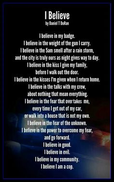 For the love of the officers - LEO - I believe
