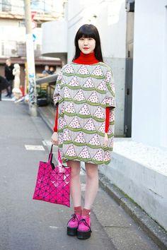 Tokyo Fashion Week street style (SS 2014)