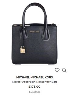 Michael Kors Mercer, Michael Kors Bag, Bag Sale, Luggage Bags, Top Sales, Messenger Bag, Accessories, Black, Michael Kors Tote