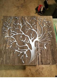 My New recycled barn wood with metal tree heart design made to order…Rational engaged welding metal art projects why not try this outReceive terrific recommendations on metal trees. They are accessible for you on our internet site. Metal Tree Wall Art, Metal Art, Wood Art, Metal Projects, Welding Projects, Art Projects, Welding Ideas, Welding Crafts, Metal Walls
