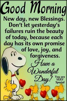 New Day, New Blessings, Good Morning