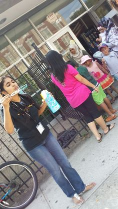 "Bubble Science at the ""House of Windsor,"" Windsor Terrace Branch of the Brooklyn Public Library, Summer 2014."