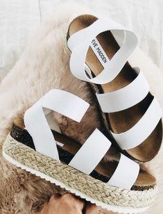 01ae3e32535 The perfect sandal for spring! Steve Madden Platform Sandals
